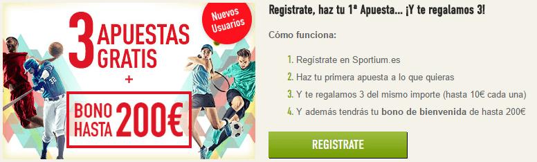 Código Promocional Sportium