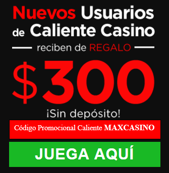 Obtén $300 MXN para Casino