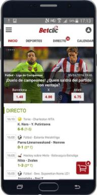 Betclic Móvil App