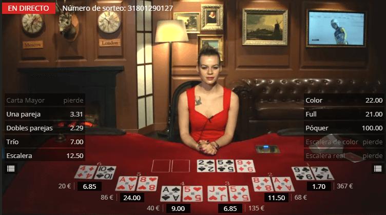 1xbet Casino en directo