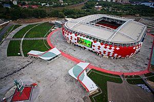 Estadio Otkrytie Arena de Moscú