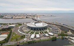 Estadio Krestovski de San Petersburgo