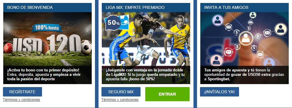 Código Promocional Sportingbet Chile