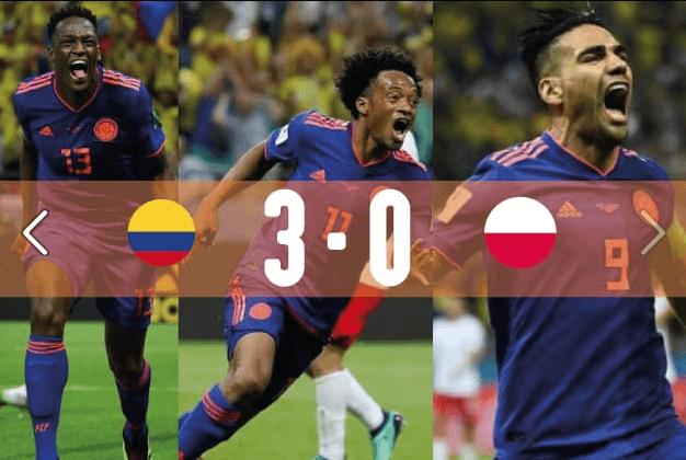 Colombia adelande