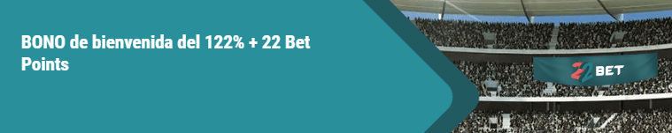 Código promocional bet22