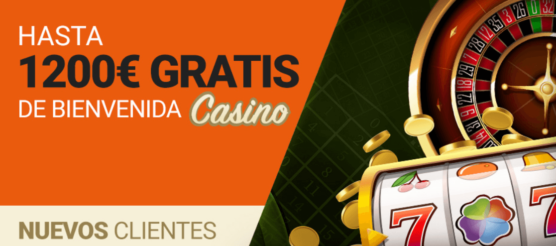 Luckia Casino: Consigue hasta 1200€