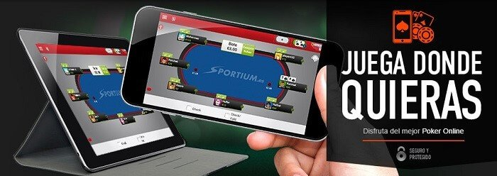 Sportium Poker App
