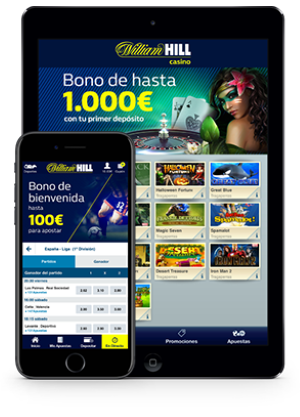 William Hill Aplicación