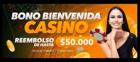 bono bienvenida yajuego colombia casino