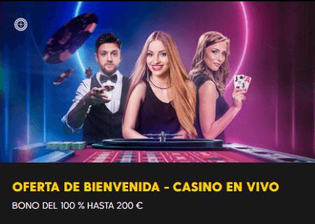 Bethard Bono de Casino en Vivo