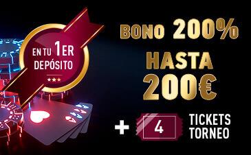 bono bienvenida sportium poker