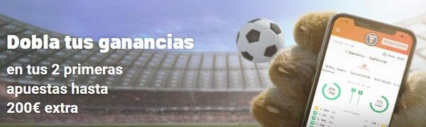 LeoVegas Bono Bienvenida Apuestas Deportivas