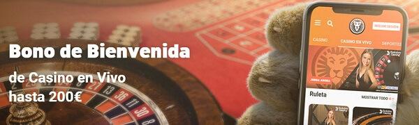 LeoVegas Bono de Casino en Directo