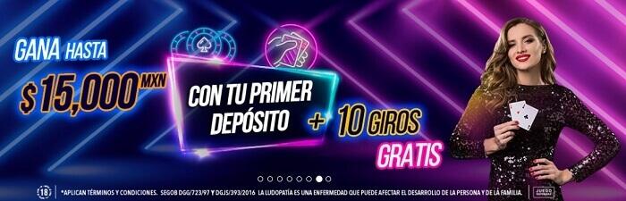 Big Bola Casino Bono de Bienvenida